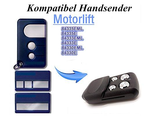 Kompatibel mit Chamberlain Liftmaster 94335E | 94330E | 94333E | 94334E | ML 750 Garagentor Fernbedienung Sender Ersatz, 4 Kanal Handsender 433 Mhz, Key Fob