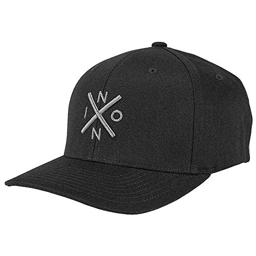 Nixon Exchange FF Hat Black/Charcoal S/M