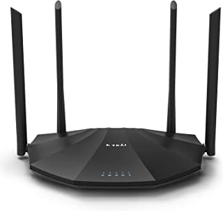 Tenda AC19 AC2100 Dual Band Gigabit Wireless Cable Router,Speed Up to 2100 Mbps,a USB 2.0 Port, MU-MIMO,5 Gigabit LAN Port...