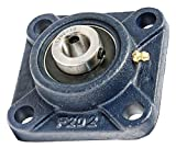 5/8 Bearing UCF202-10 + Square Flanged Cast Housing Mounted Bearings