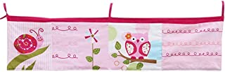 Yishelle-home Baby Diaper Organizer Crib Storage Bag  Baby Organizer For Crib Bed Hanging Storage Bag For Baby Essentials Hanging Diaper Storage Bag  Color Picture Color  Size 96X24CM