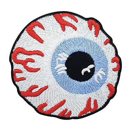 Finally Home Auge mit rausstehenden Adern Bügelbild Patch zum Aufbügeln   Patches, Aufbügelmotive