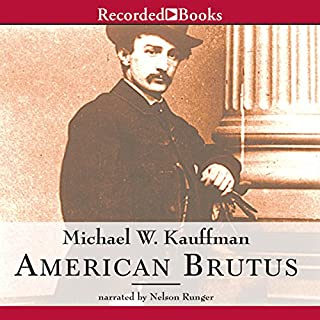 American Brutus audiobook cover art