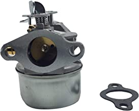 Hity Motor Carburetor Carb FITS Tecumseh AH600, HSK600, HSK635, TH098SA 3 & 3.5 hp, 2 Cycle Engines Replaces Tecumseh 640086, 640086A, 632641, 632552