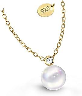 2ca2ea8c42aaf Amazon.co.uk: Pearl - Necklaces / Women: Jewellery