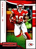 2018 Rookies and Stars Football #43 Tyreek Hill Kansas City Chiefs Official NFL Trading Card Produced by Panini. rookie card picture