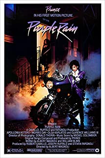 "Purple Rain (Prince) Movie Poster - Size 24"" X 36"" - This is a Certified Poster Office Print with Holographic Sequential Numbering for Authenticity."
