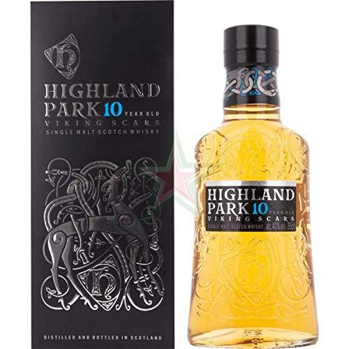 Highland Park 10 Years Old VIKING SCARS Single Malt Scotch Whisky 40,00% 0,35 Liter