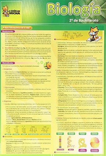 La Guía de Micha: Biología 2º de Bachillerato (Guia De Micha) - 9788493664008