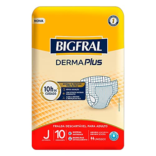 Fralda Bigfral Derma Plus Juvenil, Bigfral, Juvenil