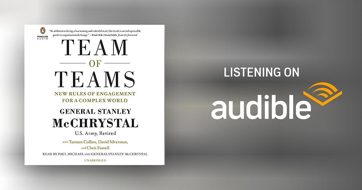 Team of Teams Audiobook | Gen. Stanley McChrystal, Tantum