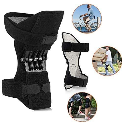 ZH-VBC Rodillera Knee Active Plus, Rodilleras Deportivas, Protector de Rodilleras con Soporte de Articulación Power Lift para Escalada Deportiva Reduce El Dolor