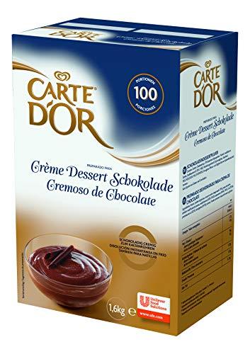 Carte D'Or Creme Dessert Schokolade (cremiges Dessertpulver) 1er Pack (1 x 1,6 kg)