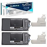 LCL Cartucce di Toner Compatibile TK-3160 TK3160 1T02T90NL0 (2 Nero) Sostituzione per Kyocera Ecosys P3045n P3045dn M3145dn P3050dn P3055dn P3060dn