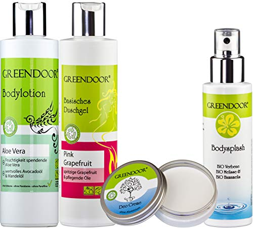 Urlaubs-Reiseset/Beauty-Set Classic - Bodylotion, Duschgel und Deo-Kombipack zum Setpreis, Naturkosmetik direkt v Hersteller