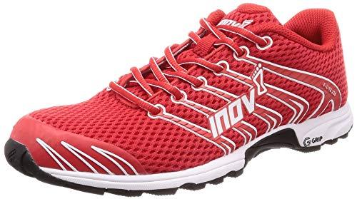 Inov-8 F-Lite 230 - Minimalist Cross Training Shoes - Classic Model - Graphene Grip - Red/White 11.5 M US