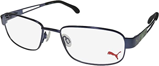 Puma 15417 Mens/Womens Flexible Hinges TIGHT FIT Designed for Young Men & Women Optimal for Sports Eyeglasses/Eyewear