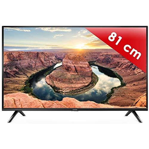 Téléviseur LED HDTV 80 cm Thomson 32HD3341 - TV LED 32 pouces - Prise casque - Son 2 x 5...