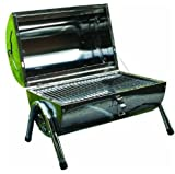 Kingfisher <span class='highlight'>PORTABLE</span> TABLETOP STAINLESS STEEL <span class='highlight'>BBQ</span> BARBEQUE FOLDING DOUBLE GRILL CAMPING