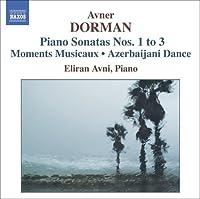Piano Sonatas Nos 1-3 by Avner Dorman