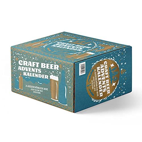 Bier Adventskalender 2021, Craft Beer Kalender mit 24 nationalen und internationalen Spezialitäten