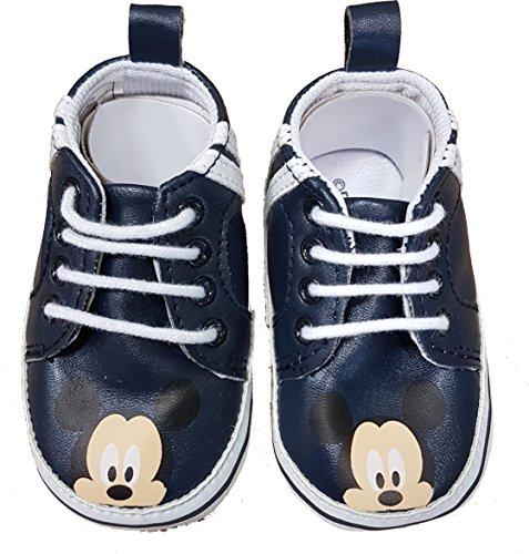 Mickey Mouse, Baby Jungen Babyschuhe - Lauflernschuhe, Mehrfarbig - Mehrfarbig - Größe: 16 EU