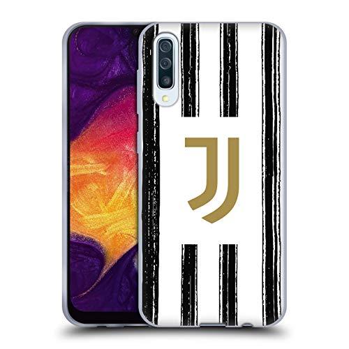 Head Case Designs Ufficiale Juventus Football Club in Casa 2020/21 Kit Abbinato Cover in Morbido Gel Compatibile con Samsung Galaxy A50/A30s (2019)