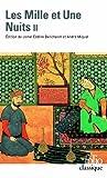 Les Mille et Une Nuits (Tome 2) Contes choisis by Anonymes (1991-04-23) - Folio - 23/04/1991
