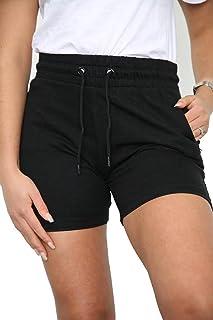 imporio 11 Womens Ladies Beach Summer Shorts Lounge Wear Fleece Gym Hot Pant Shorts Yoga Running Jogging Shorts UK Size 8-14