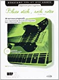 Tezza Claude Blues Stick Rock Notes Guitar Book/Cd French