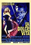 Filmposter La Dolce Vita, 69 x 102 cm, italienischer Stil A