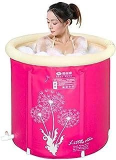 ?Y-簡易折畳みエアール浴槽ダブルサイズ大人用実用型お風呂バス美容浴槽 (幅75cm*高さ75cm) YT 328 (サイズ さいず : 75*75cm)