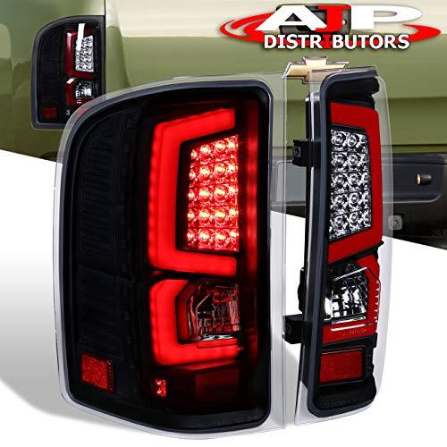 AJP Distributors New Generation Replacement LED C-Streak Tail Lights For Silverado 2007 2008 2009 2010 2011 2012 2013 07 08 09 10 11 12 13