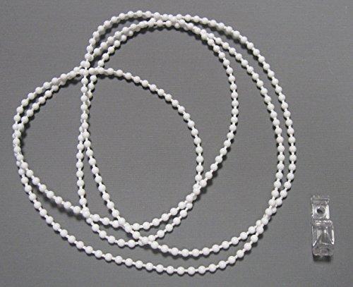 ps FASTFIX Endloskette - Rollokette (weiß) 4,5 * 6 mm - verschweißt - 50-300 cm - Hier 200 cm...