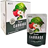 KPurity 100% Organic Sweet Cabbage Extract Juice with Broccoli, Apple, and Wild Ginseng Pure Extract Juice 10 Packs x 100ml (Cabbage, 1 Box(10 Packages))