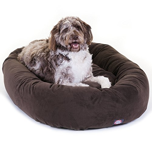 Majestic Pet Suede Dog Bed