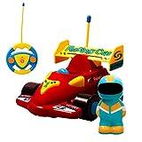 ERolldeep Rc Remote Car Vehicles Cartoon Car Rc Race Car for Toddlers Babies
