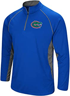 Colosseum Men's NCAA-Rival-1/4 Zip Lightweight Pullover