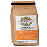 FosterHobbs Coffee - New - The Most Exceptional Coffee In The USA, Whole Bean Coffee Roasted to Order, Specialty Grade Small Batch Arabica Gourmet Coffee (Pumpkin)