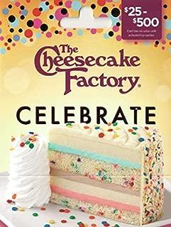 cheesecake factory voucher