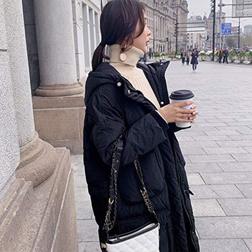 DPKDBN donsjack, winterjas vrouwen lange dikke maat katoenen mantel Koreaanse versie losse katoenkleding casual parka