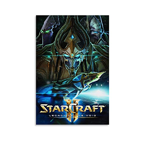 ERTYC Póster decorativo de película Starcraft 2 Legacy of The Void (20 x 30 cm)