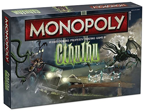 USAopoly USO-MN056 - Aufruf von Cthulhu Collectors Edition Monopol Brettspiel - H.P. Lovecraft