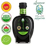 Louianna Certified Organic I.G.P. Balsamic Vinegar of Modena- 250ML-ICEA-BRC AA Grade-IFS Higher Level-Non-GMO- No sulfites added - No caramel added-5 year shelf life