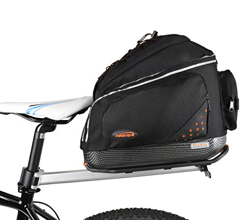 Purchase Ibera PakRak Bicycle Seat Post Commuter Rack and Quick-Release Bag