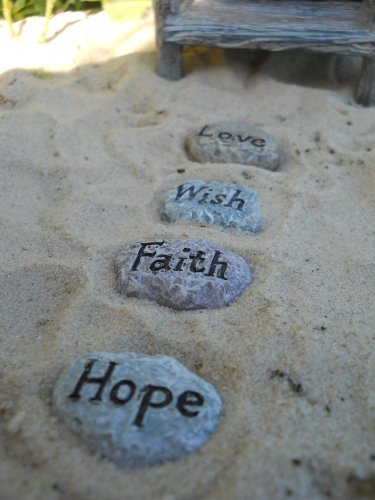 WFG Fairy Garden Fairy Sayings Stepping Stones