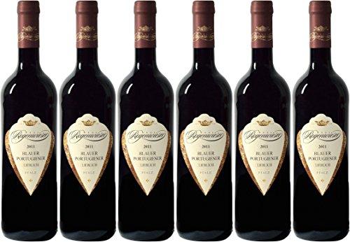 Weingut Rogenwieser Kirchheimer Schwarzerde Blauer Portugieser Rotwein lieblich (6 x 0,75L)