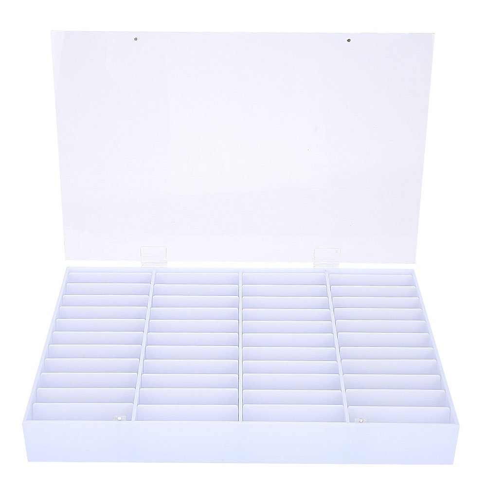 Yolispa Clear Plastic Nail Art Storage Tips Max 59% OFF Box N Empty Shipping included