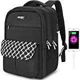 Arrontop Travel Laptop Backpack Water Resistant Anti Theft Business Bag Durable School Bookbag Fits 15.6 Inch Laptop with Charging Port