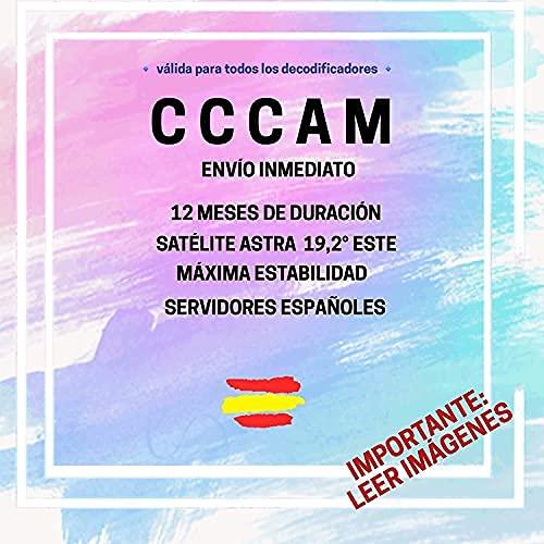 🥇 CCCAM C-Line Premium - 12 Meses - ESPAÑA - C Line con ENVÍO EN 30 Minutos - Importante: Leer IMAGENES